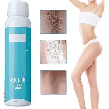 Spray de depilación, spray depilatorio profesional para hombres y ...