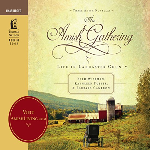 An Amish Gathering audiobook cover art
