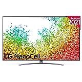 LG NanoCell 55NANO96-ALEXA 2021-Smart TV 8K UHD 139 cm (55') con Inteligencia Artificial, Procesador Inteligente α9 Gen4, Deep Learning, 100% HDR, Dolby ATMOS, HDMI 2.1, USB 2.0, Bluetooth 5.0, WiFi