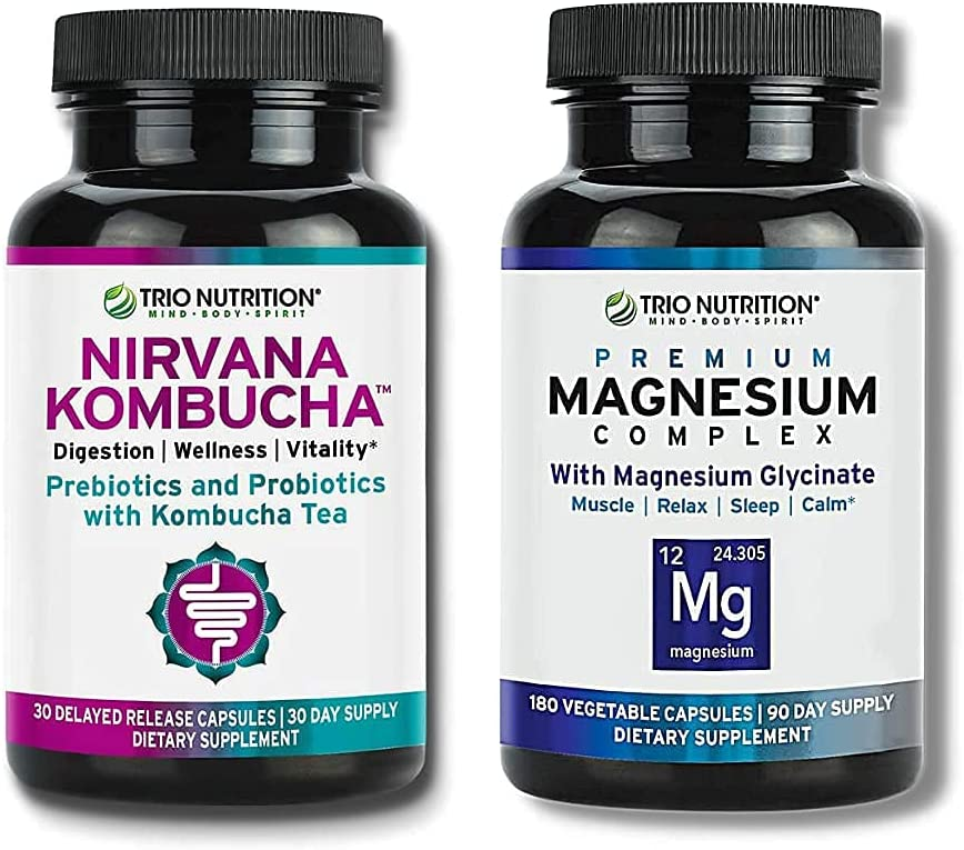 Trio Special price for a limited Large-scale sale time Nutrition Magnesium Complex Day 90 Supply Fresh