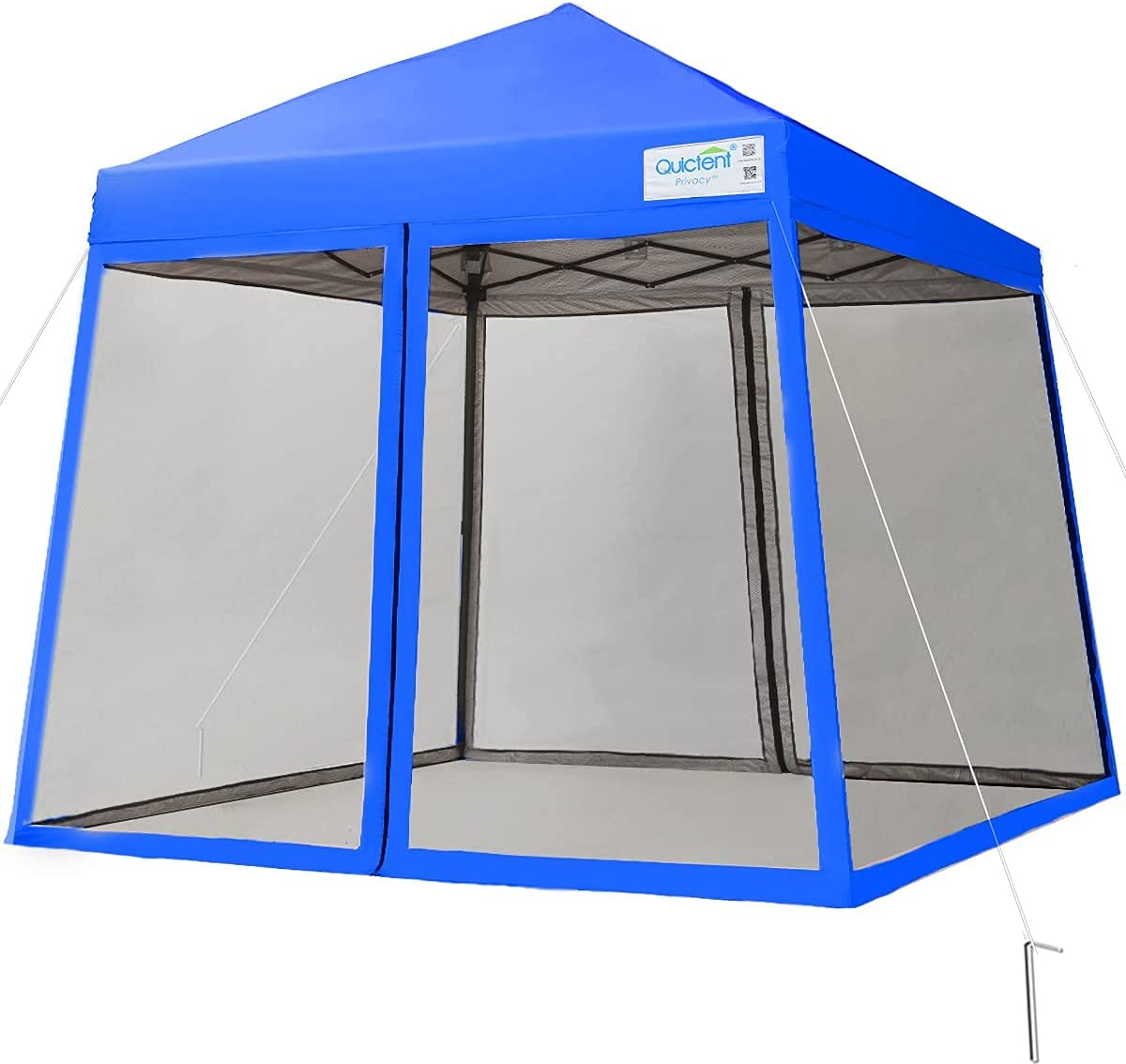Quictent Minneapolis Mall Slant Leg Outdoor Pop up Mosquito with Fixed price for sale Tent Canopy Nett