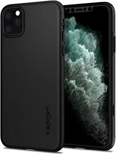 Spigen Thin Fit Classic (Ver. 2) Designed for Apple iPhone 11 Pro Max Case (2019) - Black
