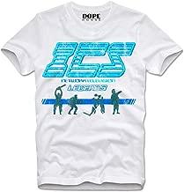 DOPEHOUSE T-Shirt ICS Network Television Running Man Schwarzenegger Dynamo Fireball Retro Vintage