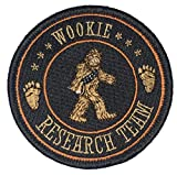 Wookie Research Team - Embroidered Morale Patch