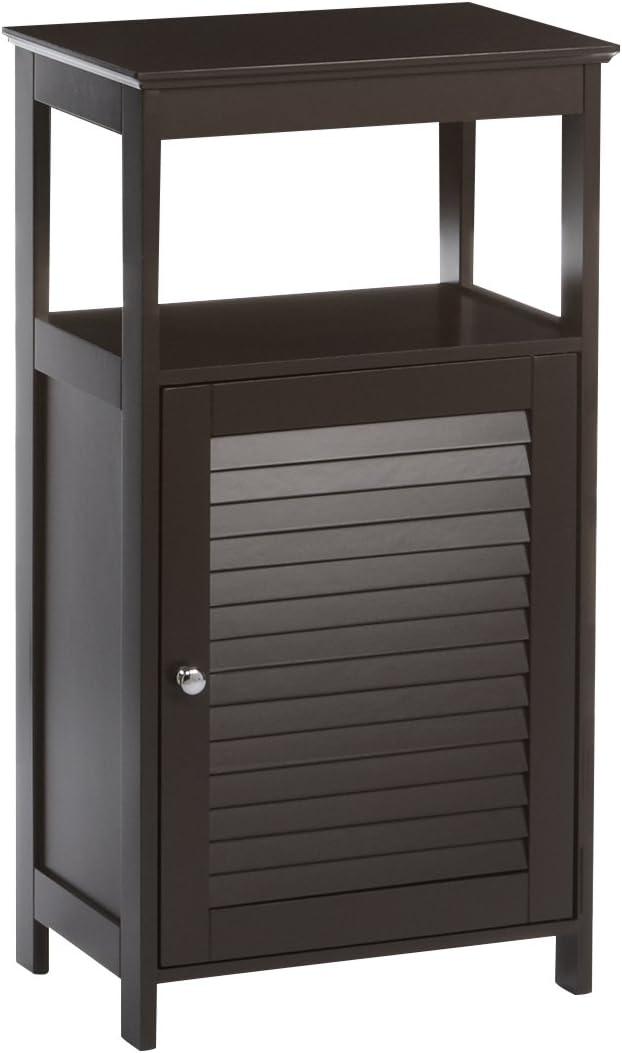 RiverRidge Save money Ellsworth Single Door Espresso Cabinet Floor Daily bargain sale