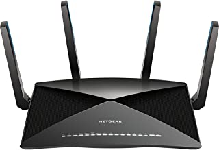 NETGEAR Nighthawk X10 AD7200 802.11ac/ad Quad-Stream WiFi Router, 1.7GHz Quad-core Processor, Plex Media Server, Compatible with Amazon Alexa (R9000)