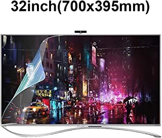 KUYUC Anti Blue Light 32 Inches TV Screen Protector, LED Eye Protection Screen Filter, Ultra-Clear Anti-Glare Screen Protector, LCD Anti-Scratch Filter Film (Color : A)