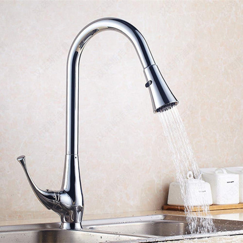VIOYO Wasserhahn Wasserhahn Einhebel-Spültischmischer von Sanitary Ware für DONA1214 Messing-Spültischwasser-Mischbatterie