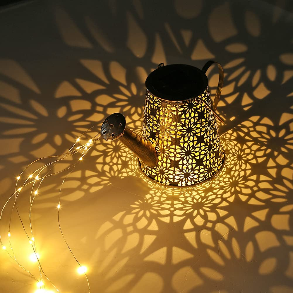 Max 48% OFF DHYED Solar Watering Can Outdoor Cheap super special price Hanging Lights Lanterns