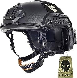 ATAIRSOFT FAST Maritimeタイプ マリタイム サバゲー ヘルメット サイズは調節可能 BK サイズM-L