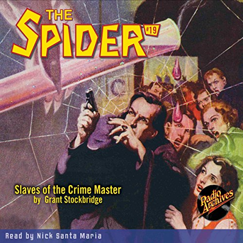Spider #19 April 1935 (The Spider) Titelbild