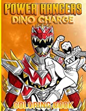 Power Rangers Dino Charge Coloring Book: Power Rangers Dino Charge Crayola Creativity Coloring Books For Kid And Adult Color Wonder Creativity