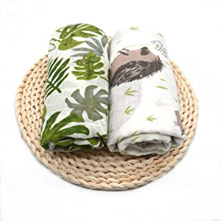Limi Baby Swaddle Blanket 100% Soft Muslin Cotton 2 Pack 47