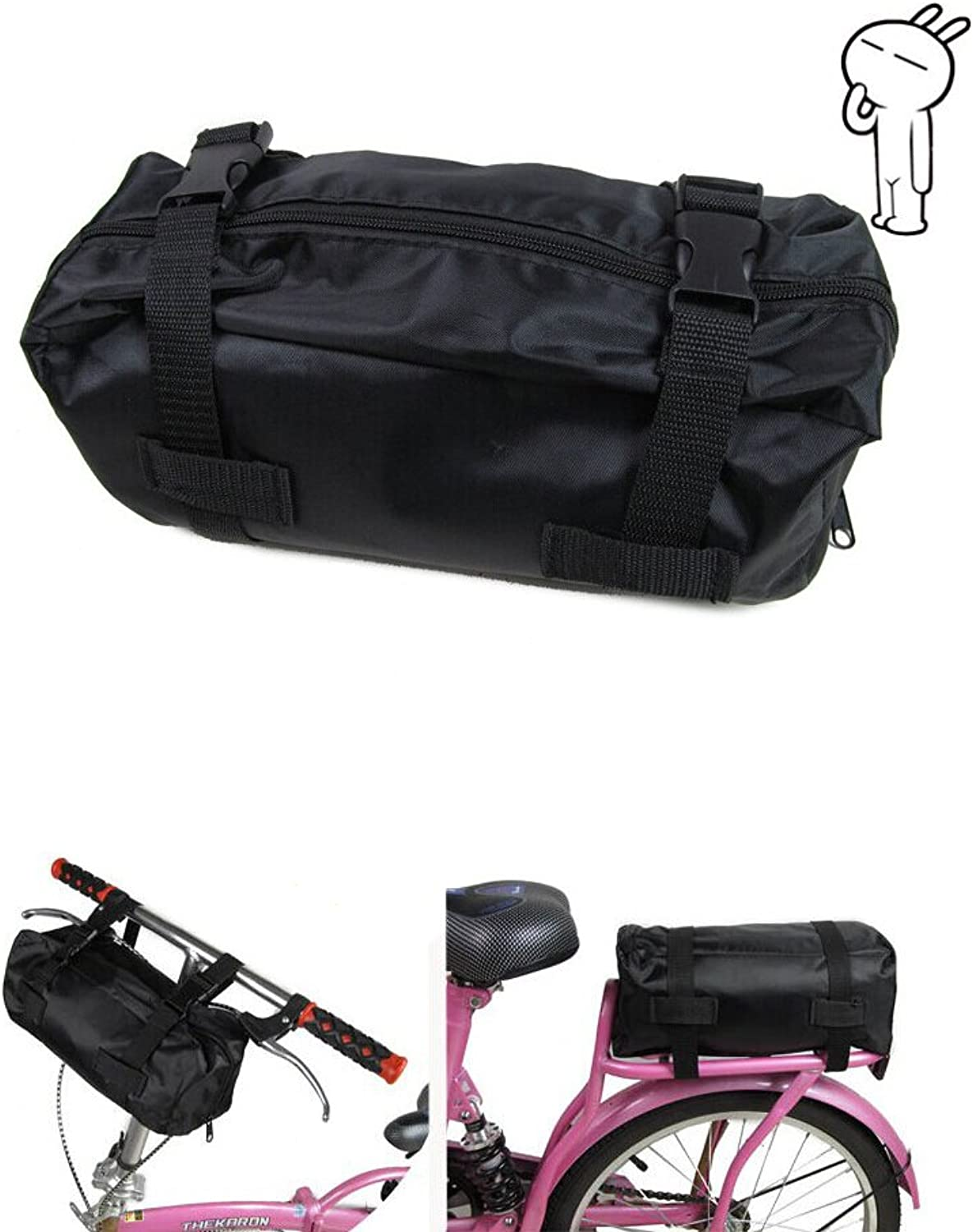EverTrust(TM)New MTB Cycling Bicycle Bike Foldable Carrier Bag Carry Pack Storage Loading Package Loading Bag for 14   20  Folding Bike