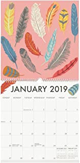2019 Art Grid 2019 Wall Calendar, Fine Art by Waste Not Paper