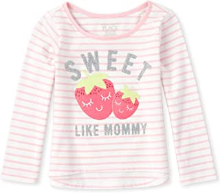 The Children's Place baby-girls Graphic Long Sleeve Fashion Top Shirt
