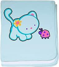 Royal Lion Baby Blanket Kitty Saying Hello to Ladybug