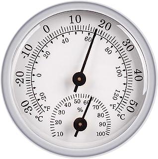 JeoPoom Hygromètre Thermomètre, Capteur D'Humidité Moniteur Détecteur Mesures, Thermomètre Analogique Utilisé Dans un Envi...