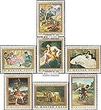 Prophila Collection Hungría 2506A-2512A (Completa.edición.) 1969 Pinturas Francés Maestro (Sellos para los coleccionistas) Pintura