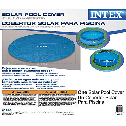 Intex Solar Cover for 12ft Diameter Easy Set and Frame Pools