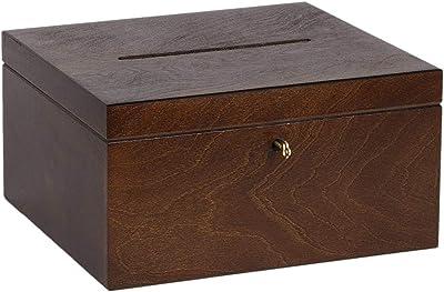 Caja de Regalo de Madera para álbum de Boda, 7,5 litros: Amazon.es: Hogar