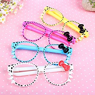Paaroots Pen Sunglasses Ball Point Pen Double Pen Gift Set School Stationary For Kids Girls And Students deal Gift For Kan...