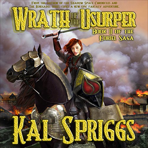 Wrath of the Usurper audiobook cover art