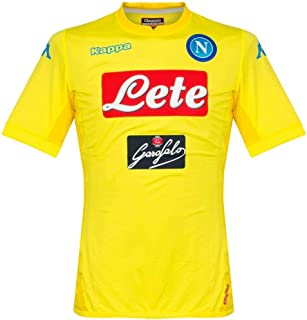 2017-2018 Napoli Authentic Away Football Soccer T-Shirt Jersey