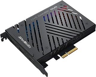 PLACA DE CAPTURA LIVE GAMER DUO PCI-E - GC570D, AVerMedia