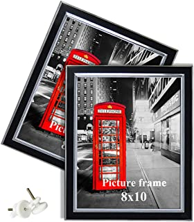Amazing Roo 8x10 Picture Frame Decorative Frames for Photography Posters Pictures Display, Set of 2