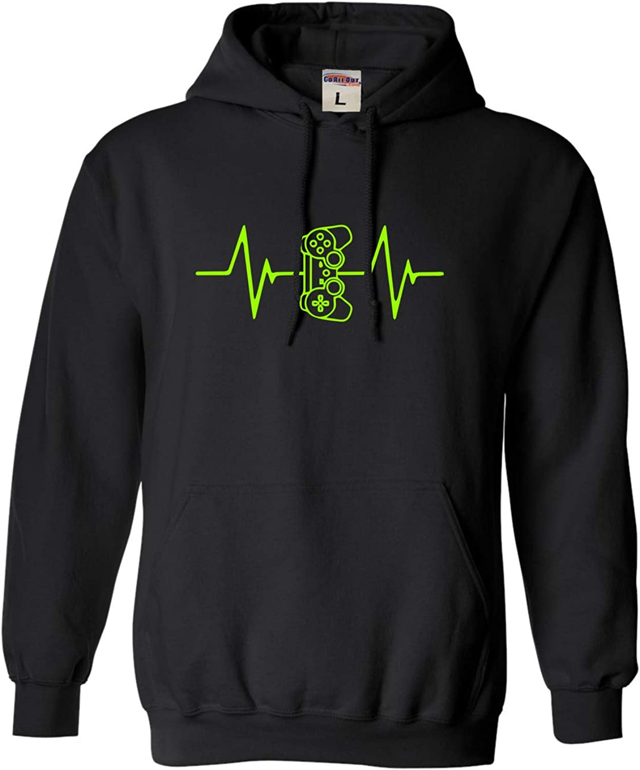 Max 62% OFF Go All Out Adult and Youth Gamer Funny Heart excellence Swe Beat EKG Gaming