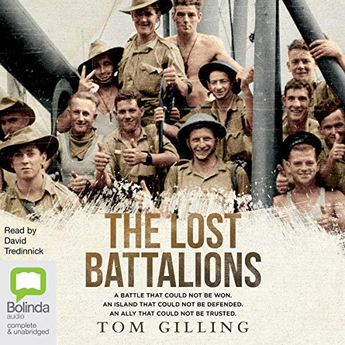 The Lost Battalions audiobook cover art