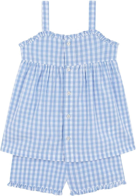 Gocco Pijama Cuadros Vichy Conjuntos, Azul (Azul Claro Zd ...