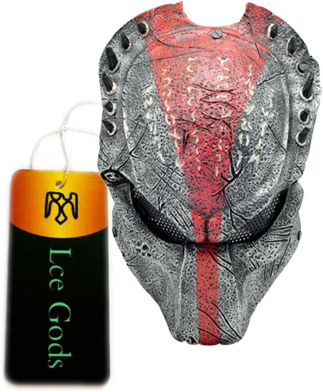 New Wire Mesh Black Red Alien Vs Predator AVP Full Face Predection Paintball Mask