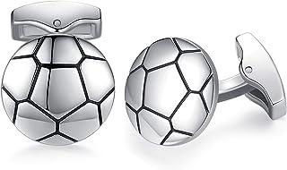 أزرار أكمام رياضية لفريق هوني بير لكرة القدم للرجال هدية رائعة لحفل الزفاف