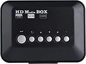 $36 » Tangxi 1080P HD HDMI 1080P Media Player, Mini Ultra-HDMI Multi Media Digital Player, USB Audio Video Player Box with IR Remote Control sopport SD Card, 2.5T Mobile Hard Drive (3.5 inch)(US)