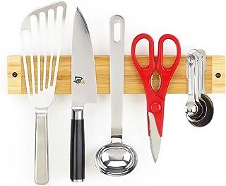 Better Houseware 2404/12 Bamboo Magnetic Knife and Utensil Holder Bar