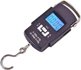 YideaHome 電子吊りスケール デジタル吊り下げ秤 荷物 旅行はかり 最大50kgまで量れる 旅行 アウトドア ホームに最適の秤 便利 軽量