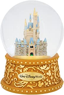 Walt Disney World Castle Musical Snowglobe A Dream is a Wish Your Heart Makes