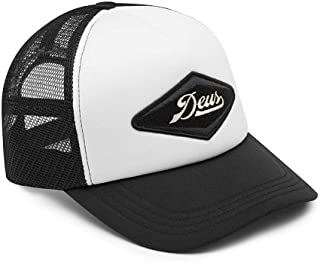 DEUS EX MACHINA (デウスエクスマキナ) / メッシュキャップ 帽子 CAP/DIAMOND TRUCKER - BLACK WHITE / DMF87503 / メンズ