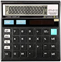 $38 » Z-Color Multi-Function Calculator Office Accounting 12 Digit Extra Large Display Large Button Calculator with Large LCD Di...