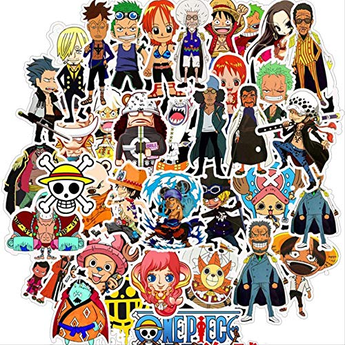 WOKAO Anime Stickers For Car Laptop Pvc Backpack Home Decal Pad Bicycle Waterproof Decal 50 Psc
