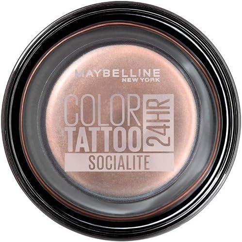 Maybelline Color Tattoo 24HR Cream Gel Eyeshadow, Socialite