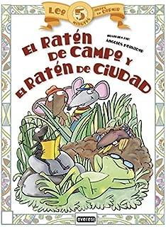 Lep 5 minutos antes de dormir: El ratón de campo y el ratón de ciudad (Spanish Edition)