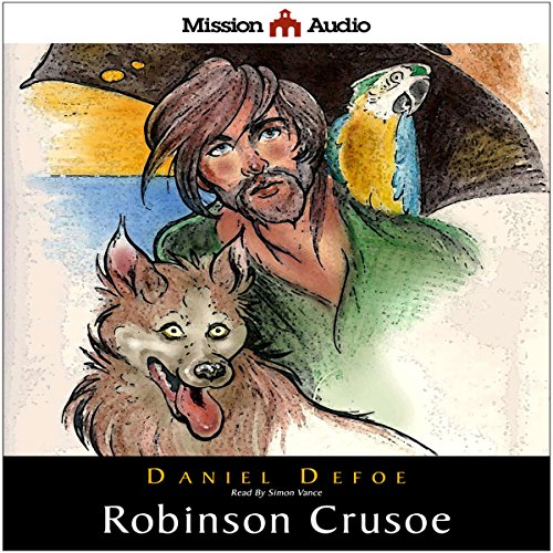 Robinson Crusoe (Retold for the Modern Listener) audiobook cover art