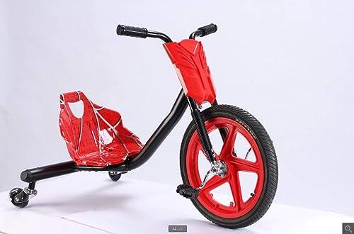 primera reputación de los clientes primero Drift Trike Mini Drifter Krunk Bicicletas de 3 Ruedas Ruedas Ruedas in rojo  estilo clásico
