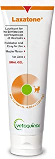 Vetoquinol Laxatone: Oral Hairball Lubricant Gel for Cats, 4.25oz