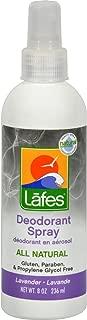 Lafes, Deodorant Spray Natural Lavender, 8 Fl Oz