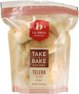 La Brea Bakery Take & Bake Telera Slider Roll, 1 oz (Frozen)