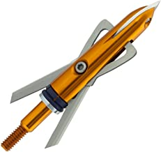Rage Bowhunting Xtreme Series Mechanical Broadheads, 2 Blade, 100 Grain 2.3 Inch Cutting Diameter, 3 Pack